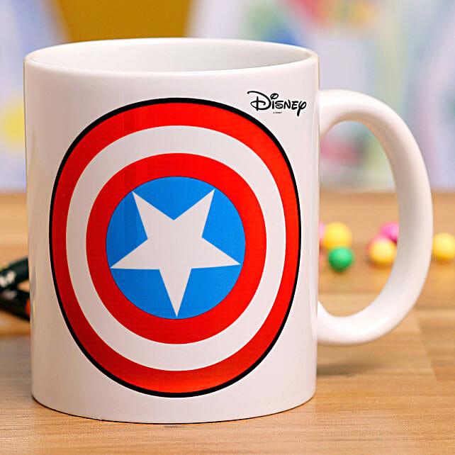 Captain America Printed Mug Hand Delivery
