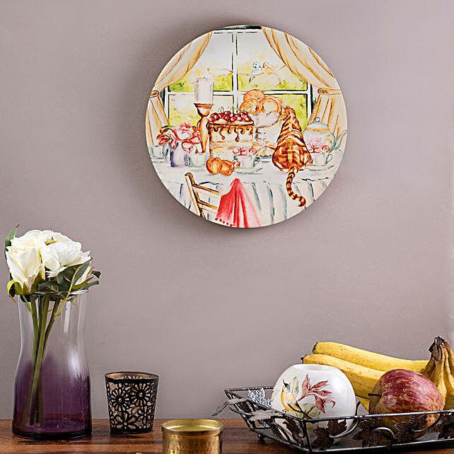 Kolorobia English Breakfast Home Decor Wall plate