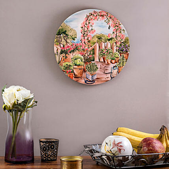 Kolorobia English Garden Home Decor Wall plate