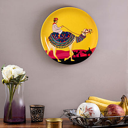Kolorobia Princely Camel Home Decor Wall plate:Unique Gift Ideas