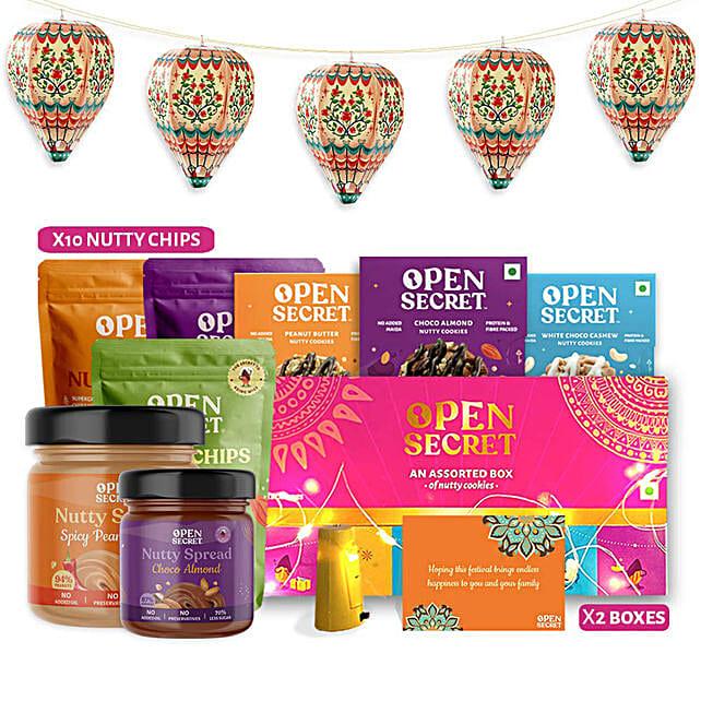 Open Secret Celebrations Gift Hamper:Buy Cookies
