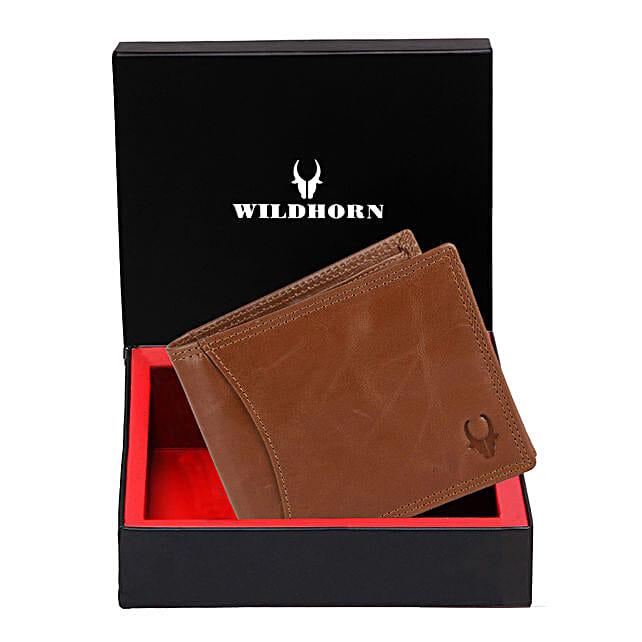 Wildhorn Classy Leather Wallet Tan