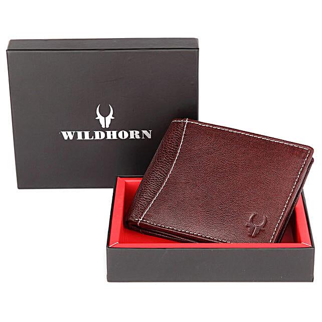Wildhorn Stylish Mens Wallet Brown