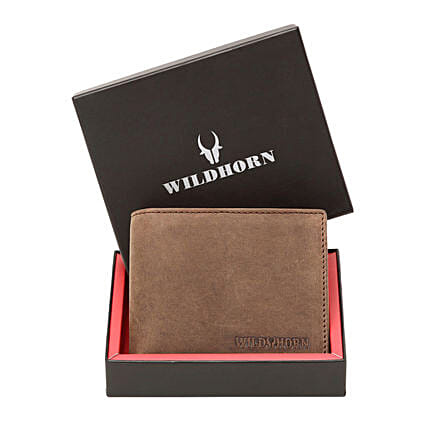 Wildhorn Tan Leather Wallet:Leather Gifts