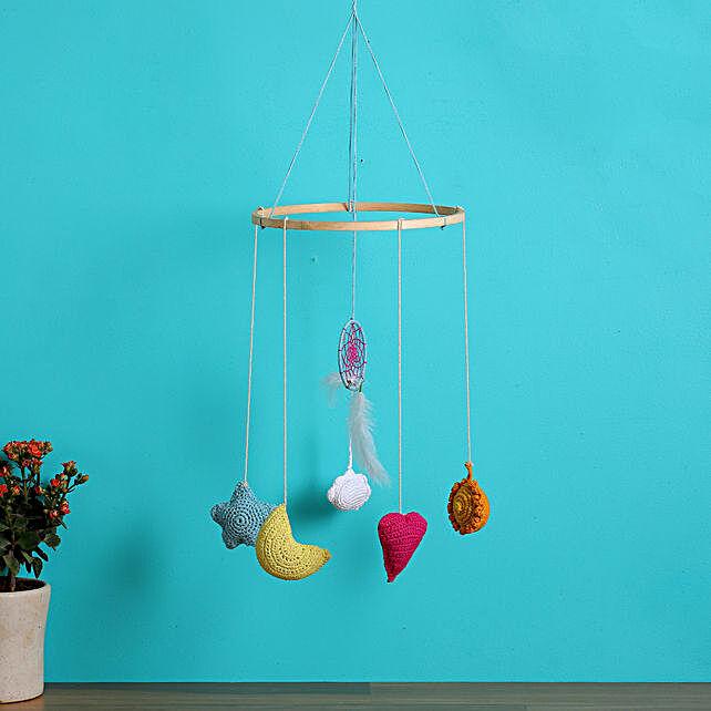 Crochet Love Chandelier Dreamcatcher