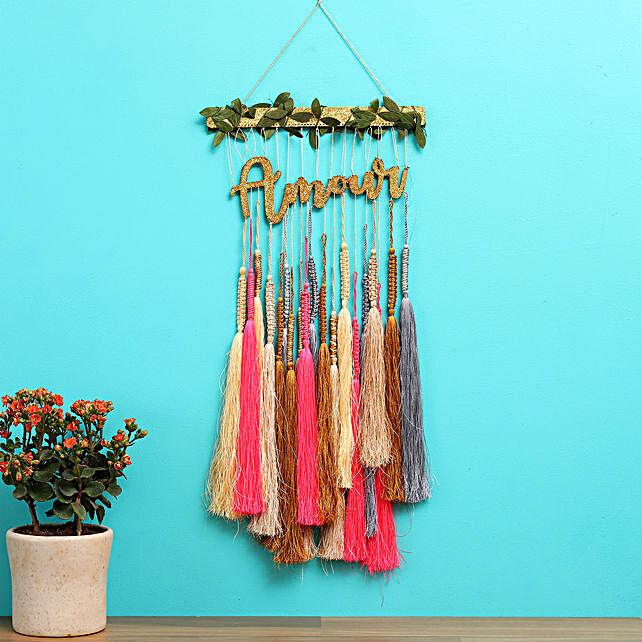 Amour Tassel Bar Pink Dreamcatcher