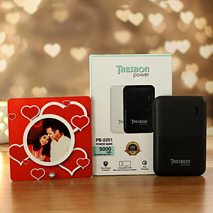 I Next Tresbon Power Bank And Cute Table Top