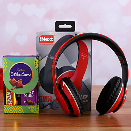 I Next Wireless Headphone And Cadbury Celebrations
