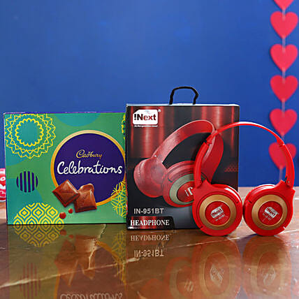I Next Wireless Headphone And Celebrations Box