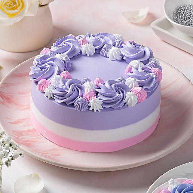 Rose Paradise Chocolate Cake