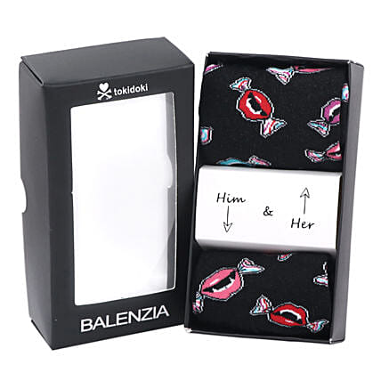 Balenzia Premium Socks For Him And Her Black