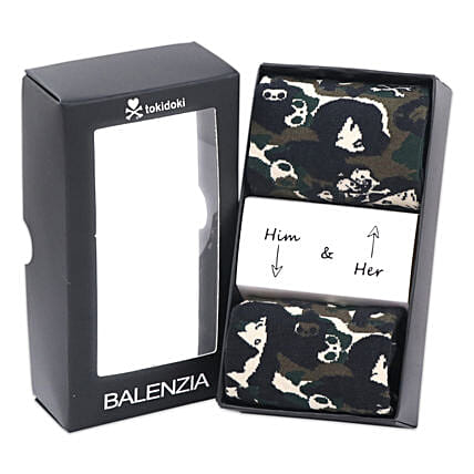 Balenzia Premium Socks For Him And Her Olive