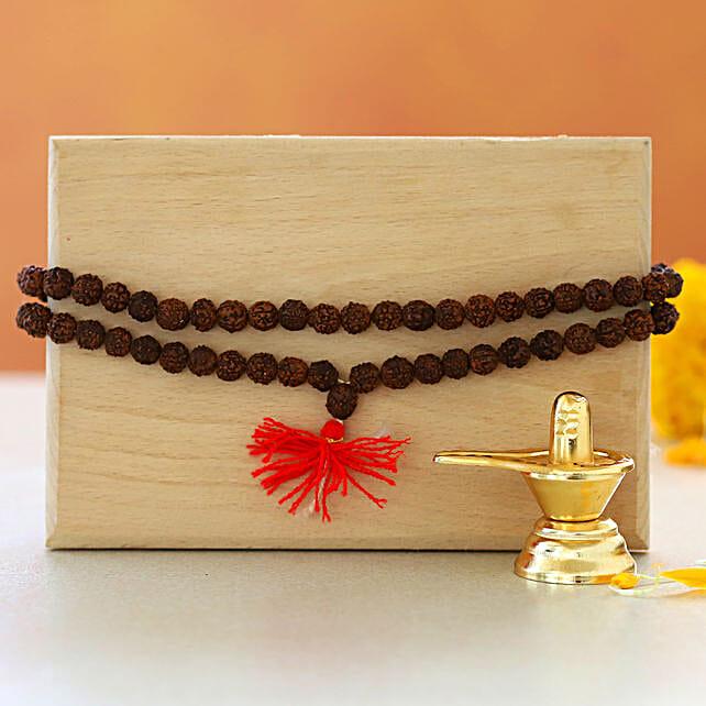 Shivling Rudraksha Mala:Shivratri Gifts