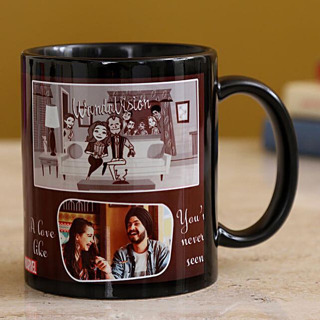 Happy Couple Personalised Mug