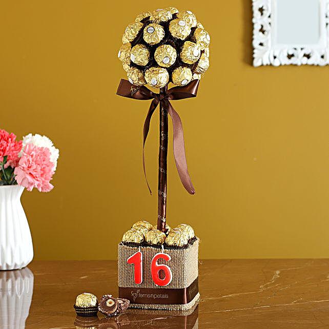 Ferrero Rocher Birthday Arrangement