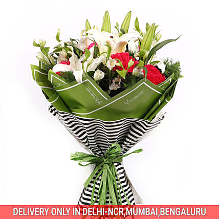 Online Fresh Flower Bouquet