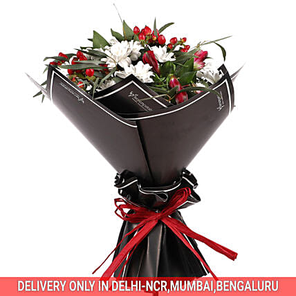 Fresh Flower Bouquet:Send Chrysanthemums