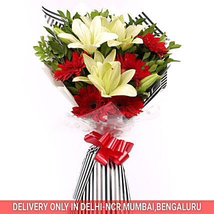 Bunches of Mixed Flower  Online:Premium Flowers
