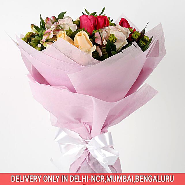 lovely flower celebration bouquet