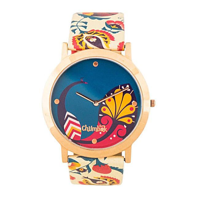 Bohemian Branches Wrist Watch