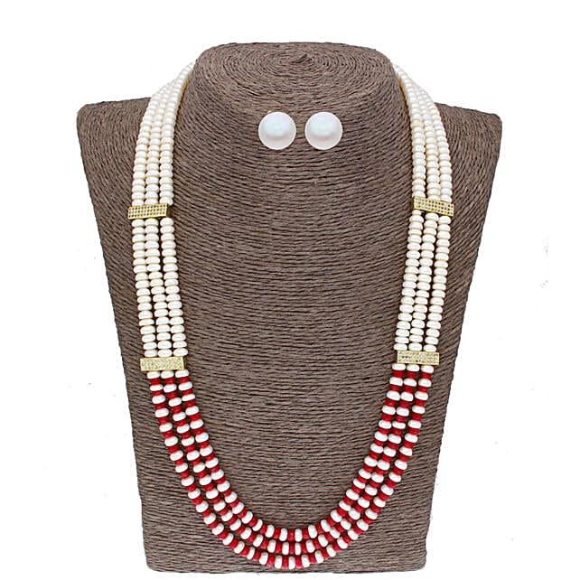 3 Line Designer Pearl Set