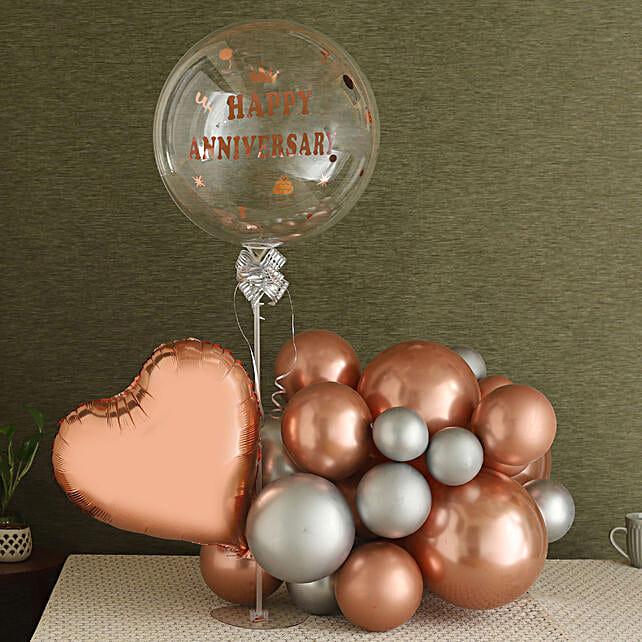 Charming Anniversary Balloon Bouquet
