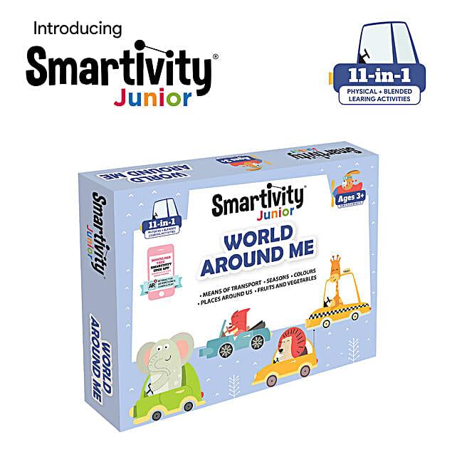 Smartivity Junior World Around Me Pre School Kit:Baby Toys