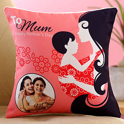 To Mum Personalised Cushion:Personalised Mothers Day Gifts