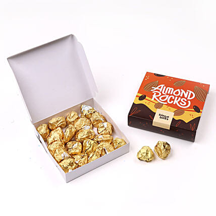 Binge Bites Chocolate Almond Rocks:Send Gifts for Dhanteras