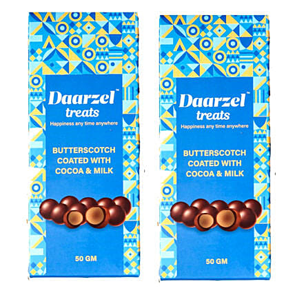 Daarzel Treats Butterscotch Chocolate Nutties:Chocolate Delivery