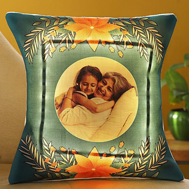 Mothers Day Personalised LED Cushion