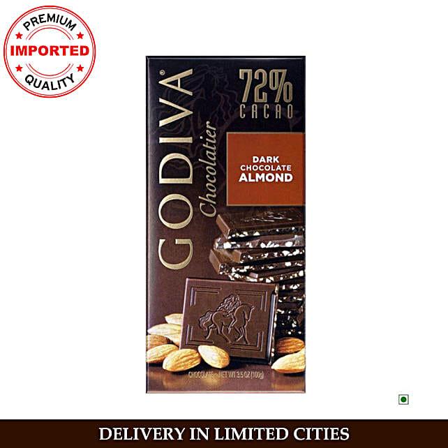 Godiva Dark Almond Bar