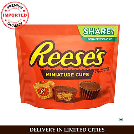 Hershey Reeses Peanut Butter Cup Miniatures