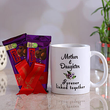 Mother Day Special Mug And Fruit N Nut