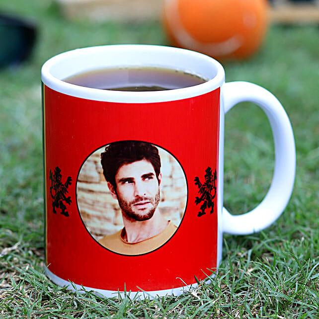 Personalised RCB Fans Ceramic White Mug