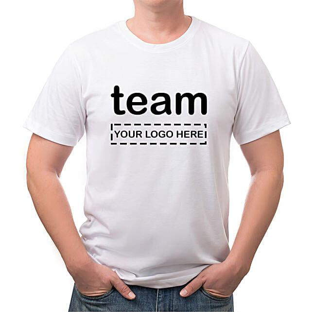 Personalised Team White T Shirt
