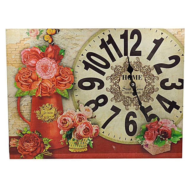 Painted Wall Clock:Wall Clock Gifts