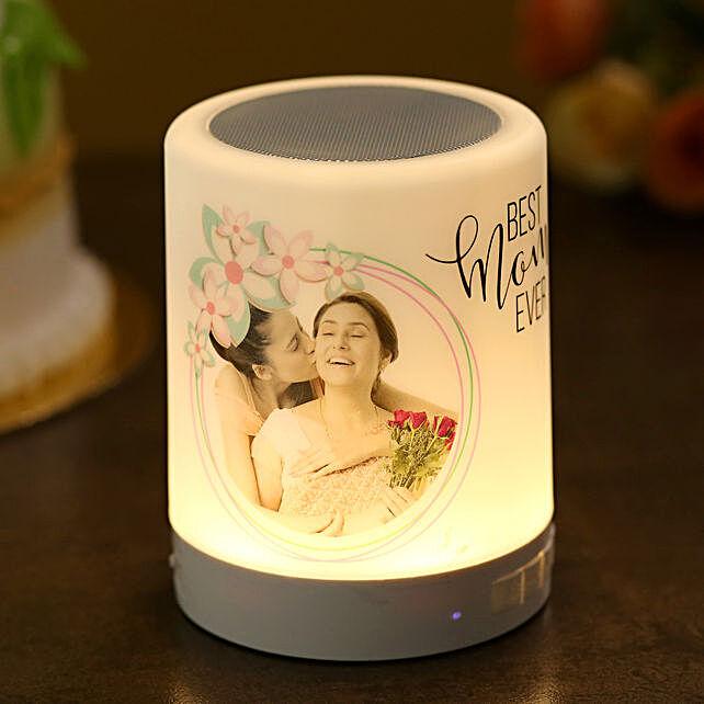 Personalised Best Mom Ever LED Speaker:Personalised Speakers
