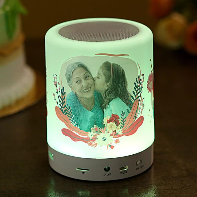 Personalised Bluetooth LED Speaker For Mom
