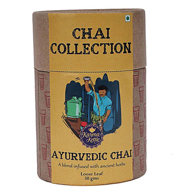 Karma Kettle Refreshing Herbal Ayurvedic Tea
