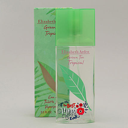 Personalised Elizabeth Arden Green Tea Tropical EDT