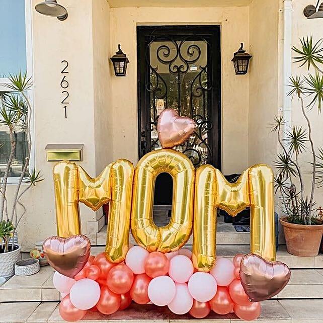 Adorable MOM Balloon Bouquet