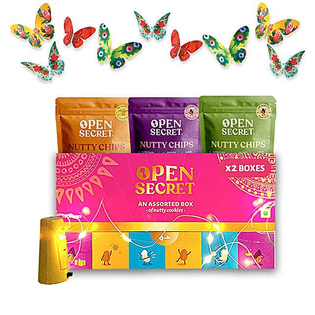 Open Secret Assorted Flavoured Chips Gift Hamper