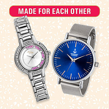 Stunning Made for Each Other Watch Set