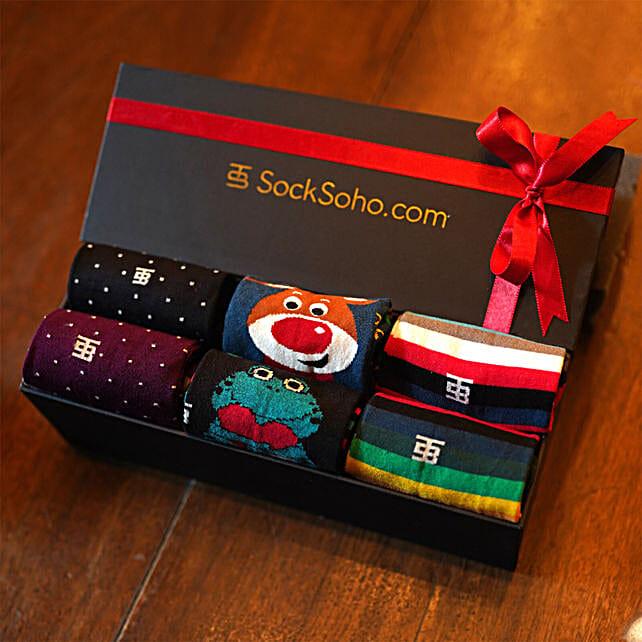 SockSoho Socks Happy Gift Box