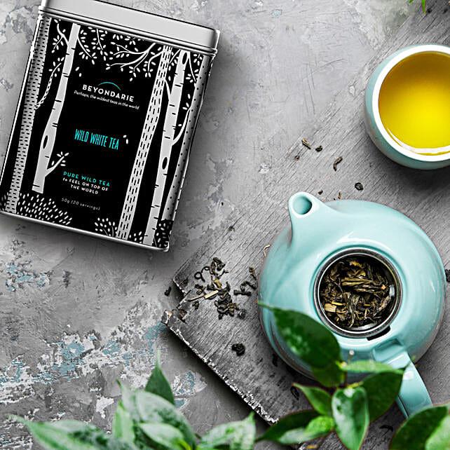 Healthy Wild Tribe White Tea 50 Gms