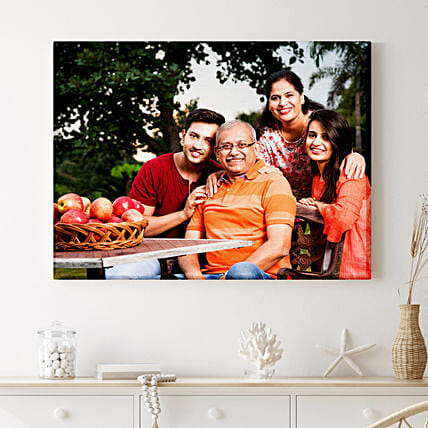 Personalised Termite Proof Landscape Canvas Frame