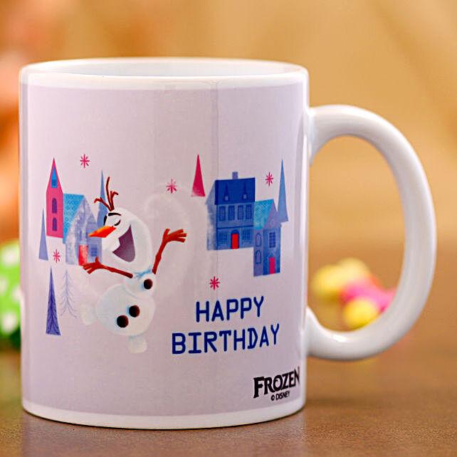 Disney Frozen Happy Birthday Mug