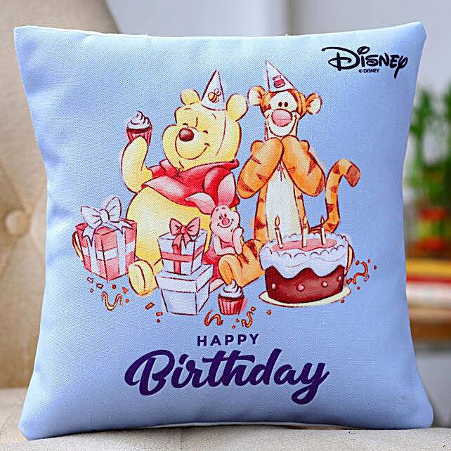 Disney Happy Birthday Printed Cushion
