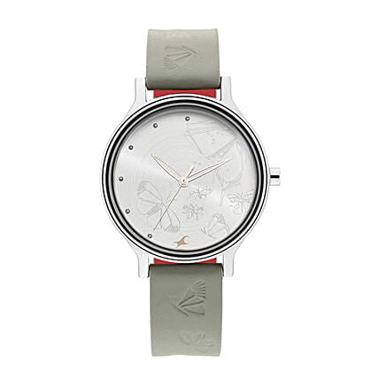 Fastrack Analog Grey Strap Womens Watch:Buy Watches